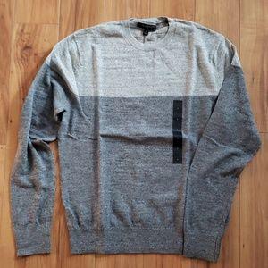 Banana Republic Two-Tone Crewneck Sweater